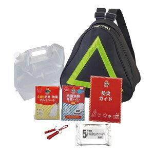 | ピラミッド7点セット 51080 | 防災セット 非常用持ちだし袋 |