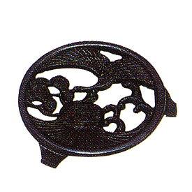 南部鉄器 鍋敷き | 南部鉄器 釜敷 ツルカメ | キッチン便利小物 C08-13 | 鍋敷き |