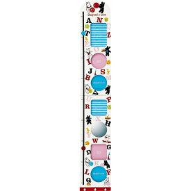 ガラス製フォトフレーム お祝い おしゃれ かわいい GL-05071 /リサとガスパール 身長計付き フォトフレーム 「6ウィンドー&ミラー」 壁掛用 GL-05071