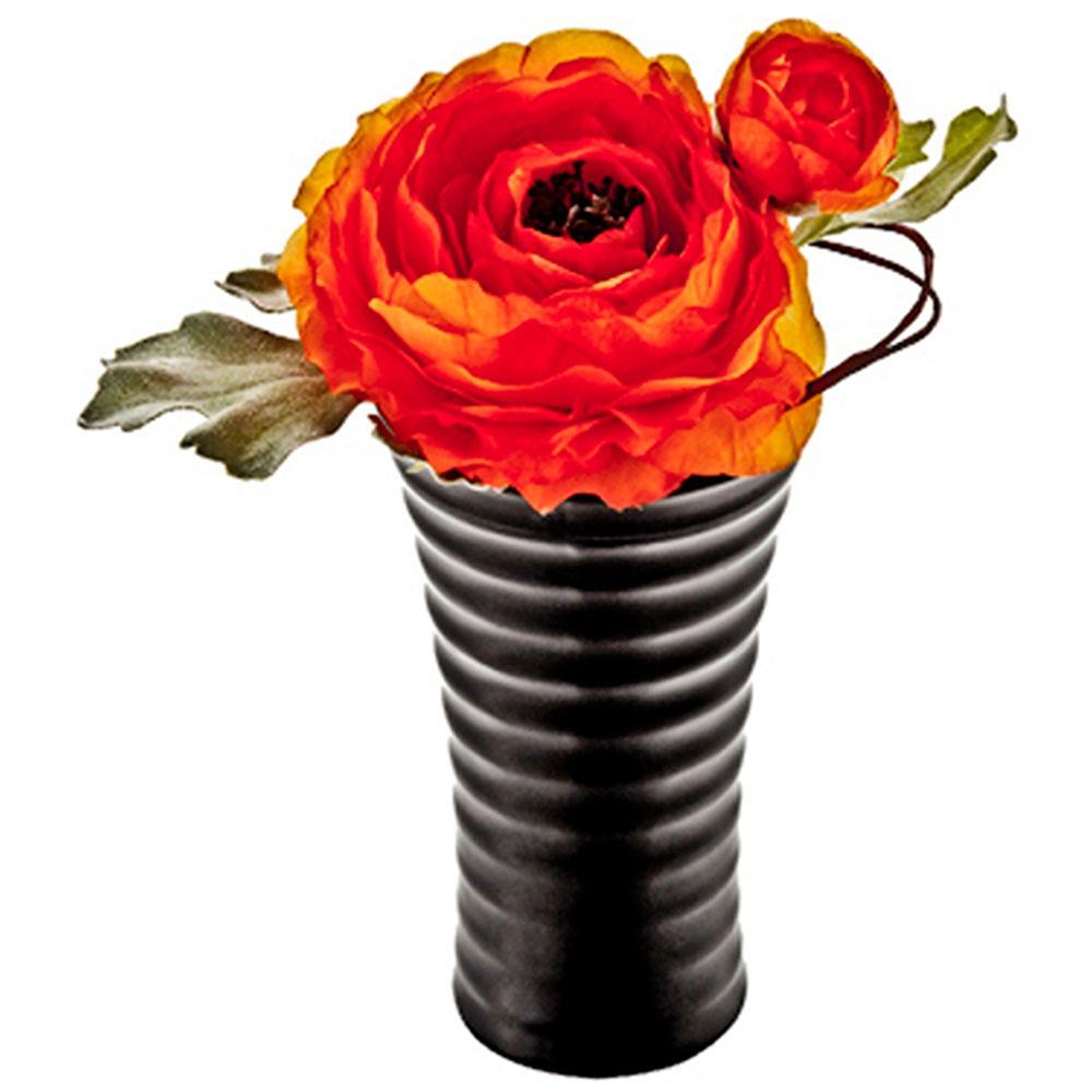 アレンジメント クリエイティブフラワーアート ロングベース ラナンキュラス オレンジ ご出産祝い ご結婚祝い 婚礼 長寿 記念品