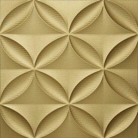 壁掛け飾り オブジェ お祝い 記念品 おしゃれ かわいい | プラデック ウォール アート 「エコー(ゴールド)」 | 3D絵画 PL-18004 | 絵画 |