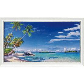 壁掛け飾り 絵画 お祝い 記念品 おしゃれ かわいい AG-20004 /アドリアーノ ガラッソー 「スピアッジア トロピカル」 AG-20004