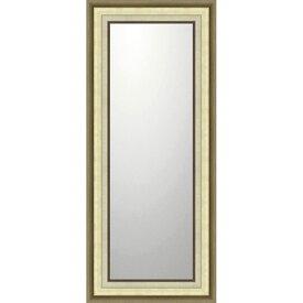 鏡 ミラー おしゃれ かわいい BM-16035 /デコラティブ 大型ミラー モダン 「ロング(ゴールド)」 壁掛用 BM-16035