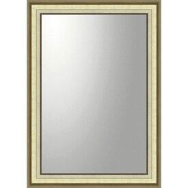 鏡 ミラー おしゃれ かわいい BM-23025 /デコラティブ 大型ミラー モダン 「長方形(ゴールド)」 壁掛用 BM-23025