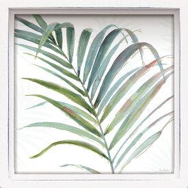 壁面飾り 卓上 絵画 おしゃれ かわいい LA-01206 /ロハス ミニアートフレーム リサ オーディット 「トロピカル ブラッシュ5」 壁掛、卓上両用 LA-01206