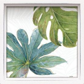 壁面飾り 卓上 絵画 おしゃれ かわいい LA-01207 /ロハス ミニアートフレーム リサ オーディット 「トロピカル ブラッシュ7」 壁掛、卓上両用 LA-01207