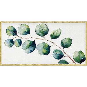 壁掛け飾り 絵画 お祝い 記念品 おしゃれ かわいい | モダン キャンバスアート ヴェルト デコル シリーズ 「ユーカリ(Mサイズ)」 | 絵画 YP-03532 | 絵画 |