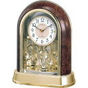 記念品 名入れ 名入れプレート付き 電波_置き時計 パルドリームR656 名入れプレート付 き 送料無料 新築祝い 竣工記念 開店祝い 開業祝…