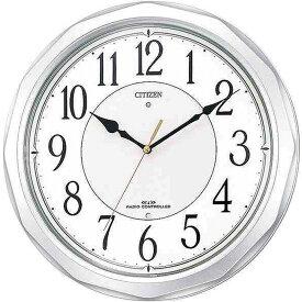 名入れ対応可 インテリアクロック 4MY642-019 /リズム時計 シチズン 掛け時計 ネムリーナサニー 4MY642-019 シルバーメタリック色(白)新築祝い 竣工記念 開店祝い 開業祝い