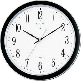 名入れ対応可 電波時計 掛け時計 4MY691-N19 /リズム時計 シチズン 電波掛け時計 ネムリーナM691F 4MY691-N19 シルバーメタリック色新築祝い 竣工記念 開店祝い 開業祝い