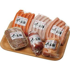 「イブ美豚」(猪豚肉) 手作りハム&ウインナーセット T-HM50 【送料無料】 【メーカー直送/代引き不可】 【ギフト対応不可】