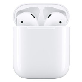 AirPods with Charging Case 第2世代 最新モデル エアーポッズ Apple 純正品 アップル ワイヤレスイヤホン マイク付き Bluetooth対応 MV7N2J/A 【送料無料】 【ギフト対応不可】