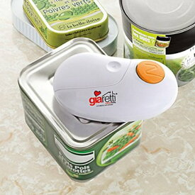 【送料無料】ジアレッティ giaretti 自動らくらく缶オープナー GR-86R自動缶切りクリスマス プレゼント