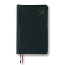 ダイゴー 2022年1月始まり アポイント Appoint E1003 見開き1週間 鉛筆付き 手帳(ミニ)サイズ ブラック