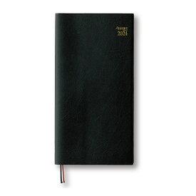 ダイゴー 2022年1月始まり E1039 月曜日始まり アポイントダイアリー 手帳ブラック 1週間+横罫