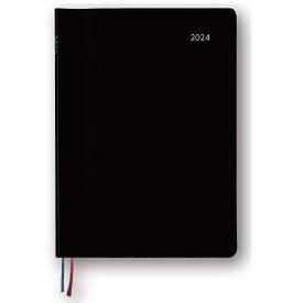 ダイゴー 2022年1月始まり アポイント Appoint 大きな文字シリーズ 1週間+横罫 A5 ブラック E8314