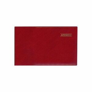 アドレス帳 ミニ ダイゴー G6931 ワイドアドレス 赤