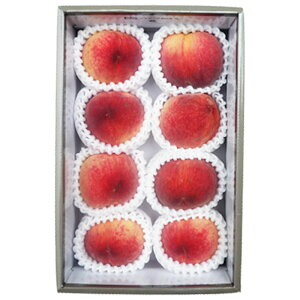 [ギフトパーク]お中元 桃 果物 ギフト[大糖領8玉化粧箱]山梨県産 最高峰のブランドピーチ お見舞い 誕生日プレゼント 贈答用 贈り物 贈答 お返し お礼 内祝い フルーツギフト バースデー 誕