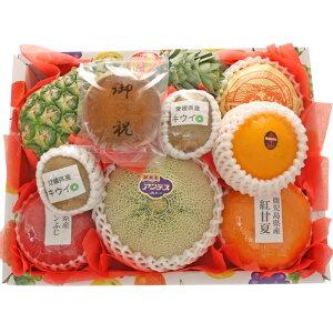 [ギフトパーク]果物 詰め合わせ 文字どら焼き入りフルーツセット(M)【御祝】【内祝】名入れ 誕生日 ギフト 還暦祝い 出産内祝い 結婚内祝 お礼 贈り物 スイーツ 和菓子 プレゼント フルーツ