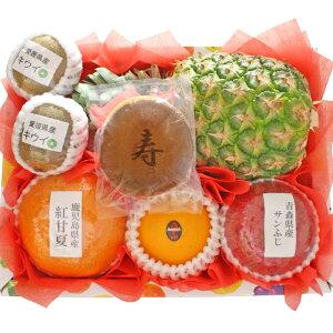 [ギフトパーク]お歳暮 名入れ ギフト 文字どら焼き入りフルーツセット(S)【寿】果物 結婚祝い 結婚内祝い 結婚式引出物 出産祝い 出産内祝い 御長寿祝い 還暦祝い 古希祝い 喜寿祝い 米寿祝