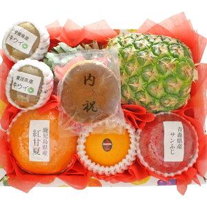 [ギフトパーク]果物 詰め合わせ 文字どら焼き入りフルーツセット(S)【内祝】名入れ ギフト 結婚内祝い 結婚祝い お返し お礼 出産祝い 出産内祝い お菓子 スイーツ お祝い 贈り物 フルーツギ