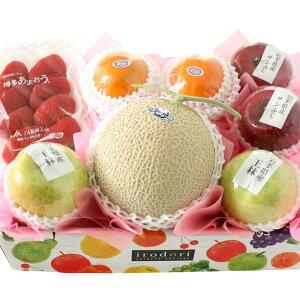 [ギフトパーク]桃の節句 果物 詰め合わせ 冬の国産フルーツBOX【福】静岡県産クラウンメロンまたはアローマメロン入り 誕生日 記念日 お祝い プレゼント バースデー[送料無料] いちご ギフ