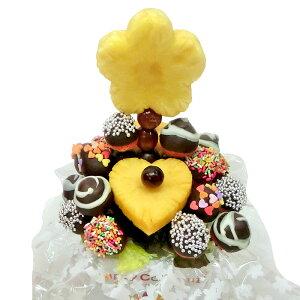 [ギフトパーク]果物 イチゴ 苺 詰め合わせ【チョコいちごブーケ】フルーツフラワーギフト フルーツチョコレート サプライズプレゼント 結婚記念日 結婚内祝い 誕生日 いちごケーキより イ