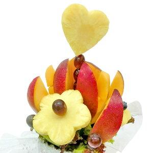 [ギフトパーク]果物 マンゴー 詰め合わせ ギフト【宮崎マンゴーブーケ】宮崎県産高級マンゴー使用 サプライズ プレゼント 結婚記念日 結婚内祝い 誕生日 メロンケーキより面白い珍しい 贈