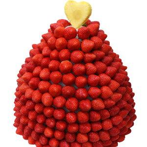 [ギフトパーク]果物 イチゴ 苺 詰め合わせ【いちごマウンテン】フルーツフラワーギフト カットフルーツ盛り合わせ サプライズプレゼント 結婚記念日 結婚内祝い 誕生日 いちごケーキより