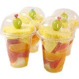 ハッピーカラフルーツミニカップ(カットフルーツを可愛くカラフルに盛りつけました)