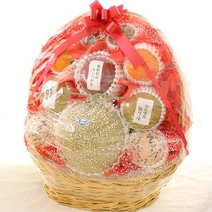 [ギフトパーク]果物 詰め合わせ【海】スタンド果物盛り籠 静岡マスクメロン入り フルーツセット くだもの 盛り合わせ 籠盛り 詰め合わせ フルーツ ギフト 贈答 フルーツギフト 開店祝い 新