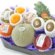 旬の果物詰め合わせお供え用【水】メロン入り御供え果物通販お取り寄せフルーツセット