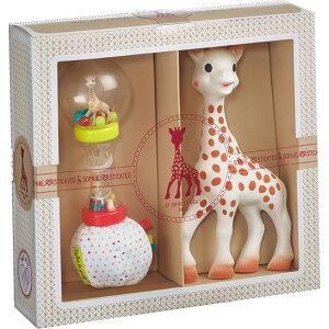 キリンのソフィー sophie la girafe マラカスラトルセット 送料無料 正規品 歯固め プレゼント ギフト 贈り物 内祝い お祝い 出産祝い お返し 赤ちゃん 女の子 男の子 キリン 動物 天然ゴム かわ