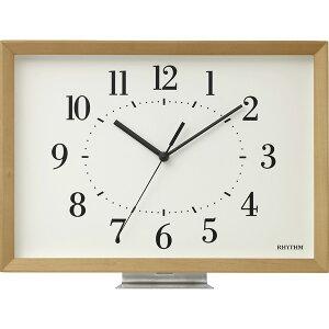 掛置き兼用時計 木枠 電波時計 A4サイズ ギフト プレゼント 贈り物 内祝い お祝い 記念日 おしゃれ お返し 時計 置き時計 壁掛け時計 アナログ 記念品 モダン アンティークデザイン 結婚内祝