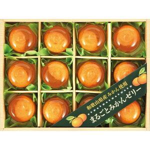 和歌山県産みかん使用 まるごとみかんゼリー MM-30 父の日ギフト
