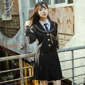 DreamSwing プリーツスカート 黒 女子高生 JK制服 大きいサイズ レディースファッション LJKJ02-3 れのPのおすすめ
