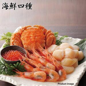 ギフト 毛ガニ ほたて えび いくら 詰め合わせセット 海鮮 魚介 お取り寄せ 北海道 F倉庫