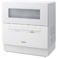 Panasonic(パナソニック) NP-TH1-W 食器洗い乾燥機 (5人用・食器点数40点) ホワイト【KK9N0D18P】