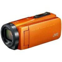 VICTOR(ビクター) GZ-RX670-D SD対応 64GBメモリー内蔵 防水・防塵・耐衝撃フルハイビジョンビデオカメラ(サンライズオレンジ)【KK9N0D18P】