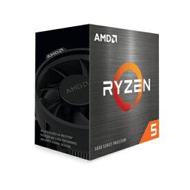 AMD Ryzen 5 5600X Wraith Stealthクーラー 100-100000065BOX【AMD Ryzen プロセッサー 3.7GHz 6コア 12スレッド 65W】