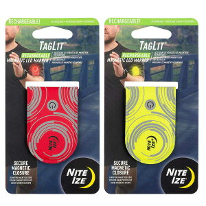 【送料無料(メール便)】【ポイント2倍】タグリット LEDマーカーリチャージャーブル TGLR-10-R3 NiteIze【ライト 充電式 LED フラッシュライト ランニング ウォーキング 自転車 NITE IZE ナイトアイ
