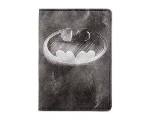 【送料無料(メール便)】【ポイント2倍】Mighty Passport Cover マイティーパスポートカバー (Batman バットマン)PP-005 ダイノマイティ・デザイン社【ポーチ サイフ カード入れ 小物入れ 軽い Dyn