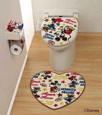 トイレ用品3点セットミッキー&ミニー