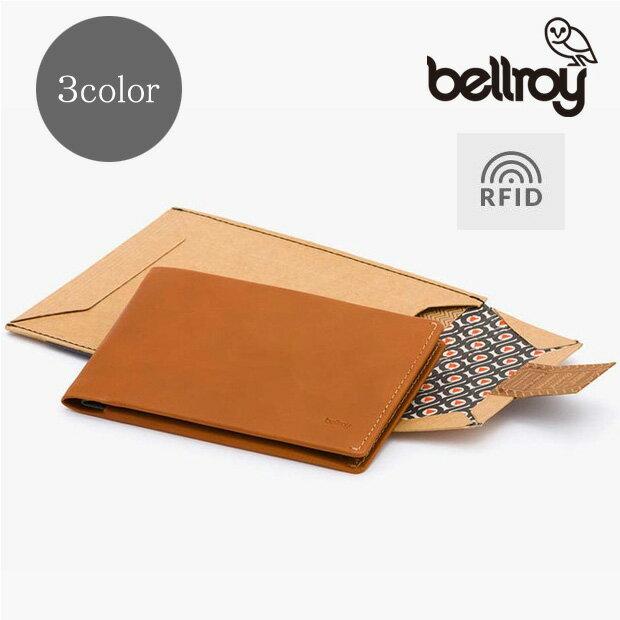 送料無料【ポイント20倍】Bellroy/ベルロイ トラベルウォレット RFIDスキミングガード機能付き 【全3色】