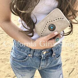 送料無料 レディース ミニ財布 小型財布 コンチョ ボタン 大容量 軽量 かわいい おしゃれ ギフト 誕生日 プレゼント 小さい 即日配送