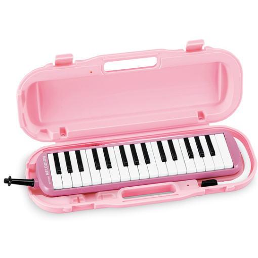 SUZUKI アルトメロディオン MXA-32P ピンク 鍵盤ハーモニカ