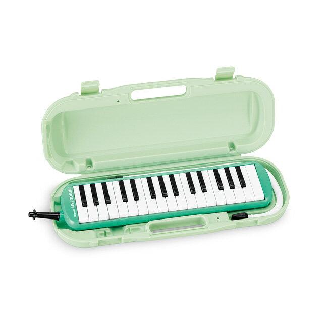 SUZUKI アルトメロディオン MXA-32G グリーン 鍵盤ハーモニカ