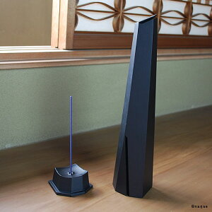 Oysterincense【L】ブラック倉本仁デザインインセンスホルダー香炉アルミ鋳造