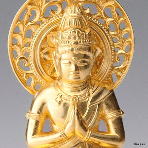 【金箔仕様】普賢菩薩15cm高岡銅器の本格金属仏像たつ・へび年生まれのお守り本尊fs3gm