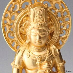 【金箔仕様】虚空蔵菩薩15cm高岡銅器の本格金属仏像うし・とら年生まれのお守り本尊fs3gm